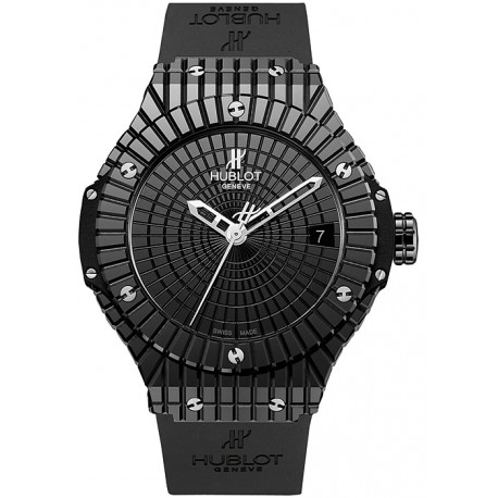 Hublot Big Bang Caviar Black Ceramic Watch 346.CX.1800.RX