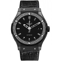 Hublot Classic Fusion Black Magic Diamond Watch 511.CM.1170.LR.1104