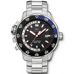 IWC Aquatimer Deep Two Automatic Mens Steel Watch IW354701