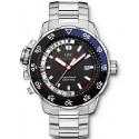 IWC Aquatimer Deep Two Automatic Mens Steel Watch IW354701