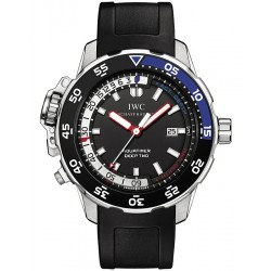 IWC Aquatimer Deep Two Automatic Mens Steel Watch IW354702
