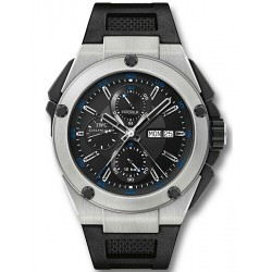 IWC Ingenieur Double Chronograph Mens Titanium Watch IW376501