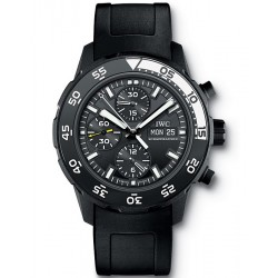 IWC Aquatimer Galapagos Island Mens Black PVD Watch IW376705
