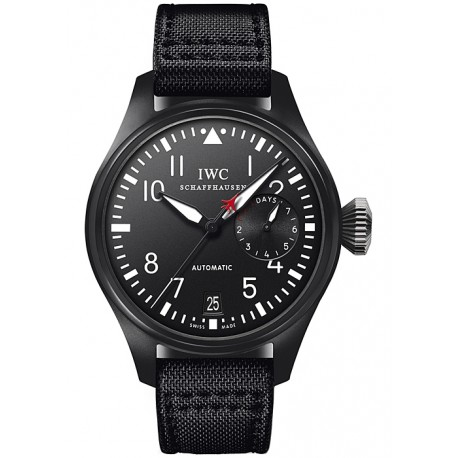 IWC Big Pilots Top Gun Mens Black Ceramic Watch IW501901