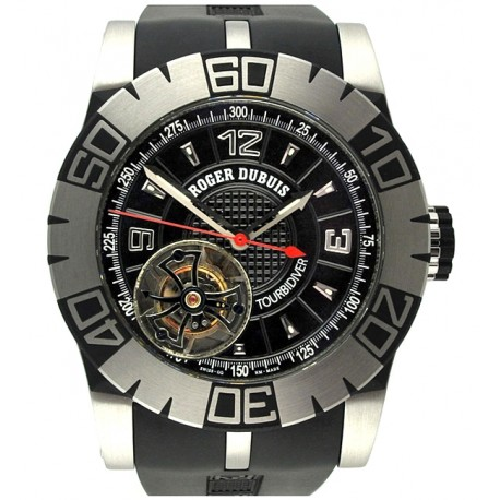 Roger Dubuis Easy Diver Tourbidiver Mens Steel Watch DBSE0181