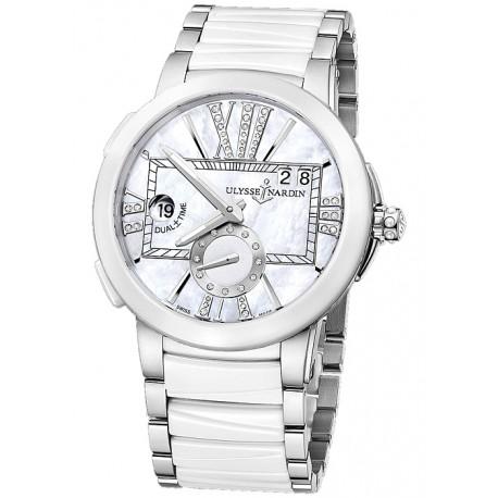 Ulysse Nardin Executive Dual White Ceramic Watch 243-10-7/391