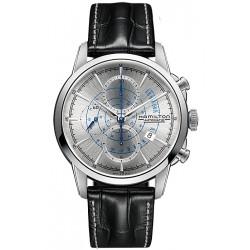Hamilton RailRoad Auto Chrono Watch H40656781