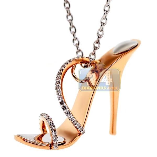High Heel Shoe Necklace