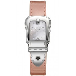 Fendi B.Fendi Glossy Pink Leather Watch F380024571D1