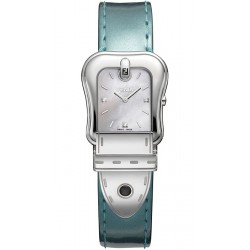 Fendi B.Fendi Glossy Green Leather Watch F380024581D1
