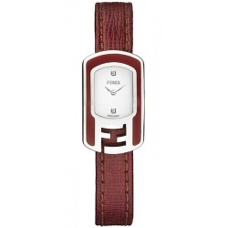 Fendi Chameleon Small Red Enamel Steel Watch F317024073D1