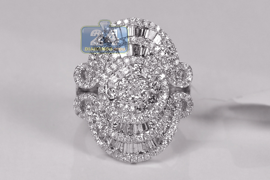 gold engagement rings ring rose wide diamond cocktail in pave pm fj