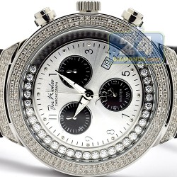 Mens Diamond Watch Joe Rodeo Master JJMS2(W) 2.20 ct Steel