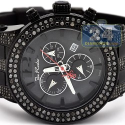 Mens Black Diamond Watch Joe Rodeo Broadway JRBR11 6.50 Carats