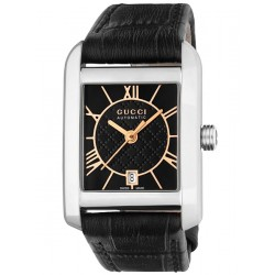 Gucci Handmaster Automatic Steel Womens Watch YA135501