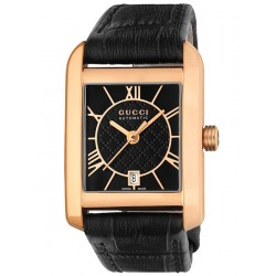 Gucci Handmaster Automatic 18K Pink Gold Small Watch YA135502