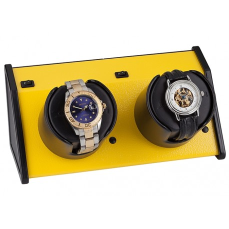 Double Watch Winder W05538 Orbita Sparta Vibrant 2 Yellow