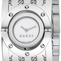 Gucci Twirl Large Steel Womens Watch YA112413
