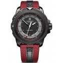 Swiss Army Alpnach Mechanical Red Fabric Mens Watch 241686