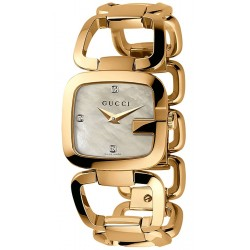 Gucci G-Gucci Small Diamond Womens Watch YA125513