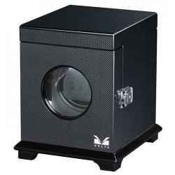 Single Watch Winder Box 31-560010 Volta Belleview Carbon Fiber