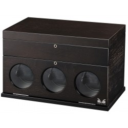 Volta Belleview Rustic Brown 3 Watch Winder 31-560031