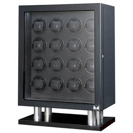 16 Watch Winder Cabinet 31-560160 Volta Signature Carbon Fiber