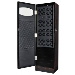 Volta Rustic Ebony Rosewood 32 Watch Winder 31-560321