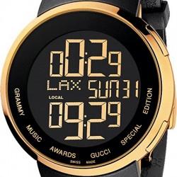 cee82be568b Gucci I-Gucci Grammy Edition Digital Mens Watch YA114215