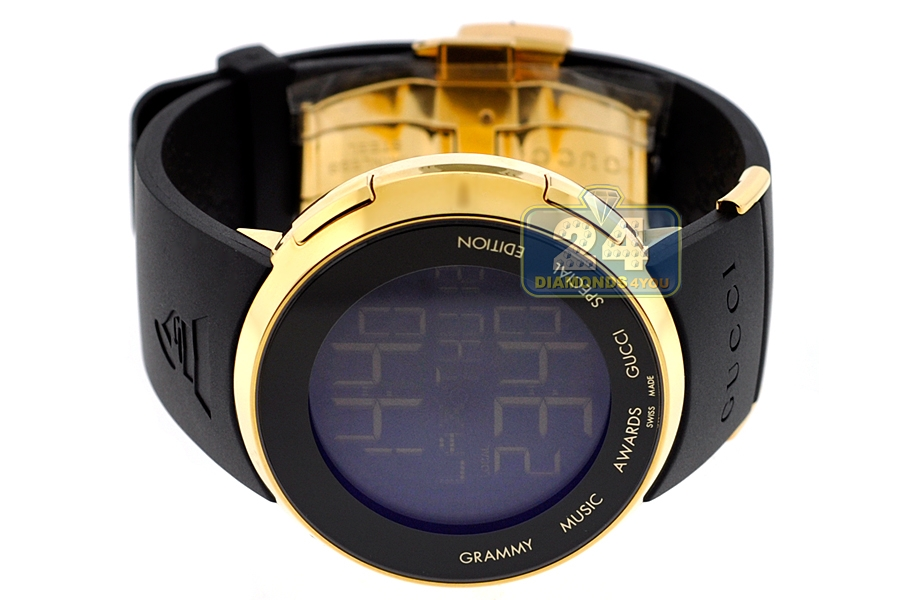 16a20a7528f Gucci I-Gucci Grammy Edition Digital Mens Watch YA114215. Move your mouse  over image or click to enlarge. Previous. Next
