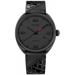 7def5f26ab44 F202611011 Fendi Momento Bugs Automatic Mens Black Watch 42mm