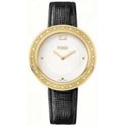 Fendi My Way Diamond Yellow Gold 36 mm Watch F350434011B0