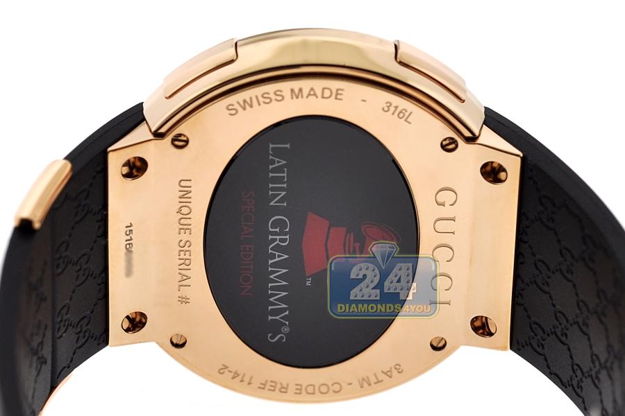 6d5d3c987ef Gucci I-Gucci Digital Grammy Edition Mens Watch YA114222