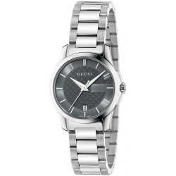 Gucci G-Timeless 27 mm Anthracite Dial Womens Watch YA126522