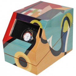 Single Watch Winder Orbita Ercolano Kandisky ERCOLAN100