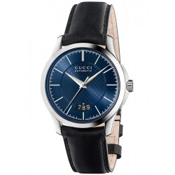 Gucci G-Timeless Automatic 38 mm Blue Dial Watch YA126443