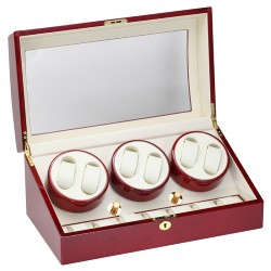 Diplomat Estate Cherry Wood Six Watch Winder 31-416
