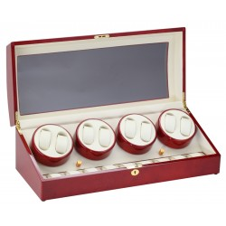 Diplomat Estate Cherry Wood Eight Watch Winder 31-418