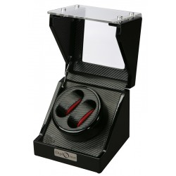 Diplomat Gothica Carbon Fiber Double Watch Winder 31-475