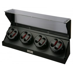 Diplomat Gothica Carbon Fiber Eight Watch Winder 31-478