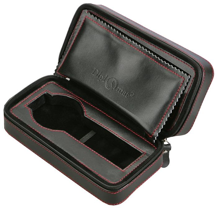23d34b93ac9 Single Watch Travel Box Orbita Verona W93000 Black Leather