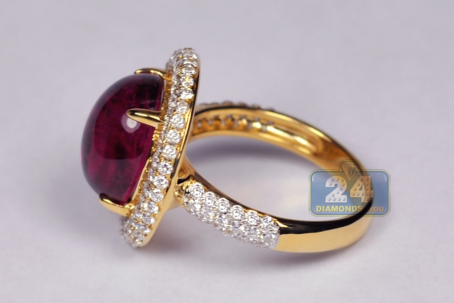 diamond engagement classic tourmaline knot ring fashion high product black t rings gold ct