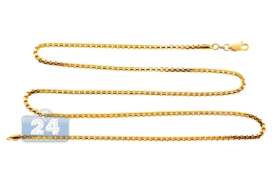 ladies chains ball chain gold inch diamond solid cut