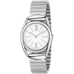 Gucci Horsebit 30 mm Stainless Steel Womens Watch YA140505
