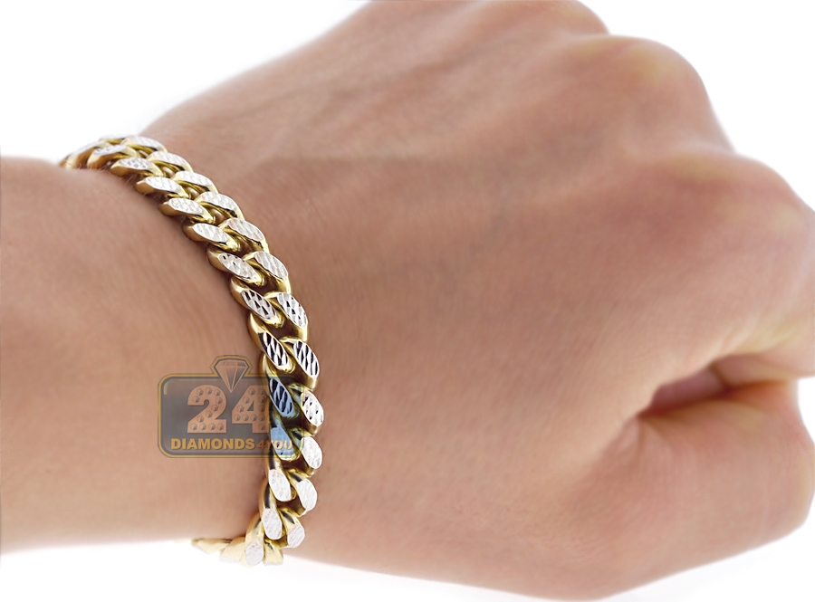 ct gold mens itm bangles pave diamond ebay yellow set img white genuine bracelet bangle canary