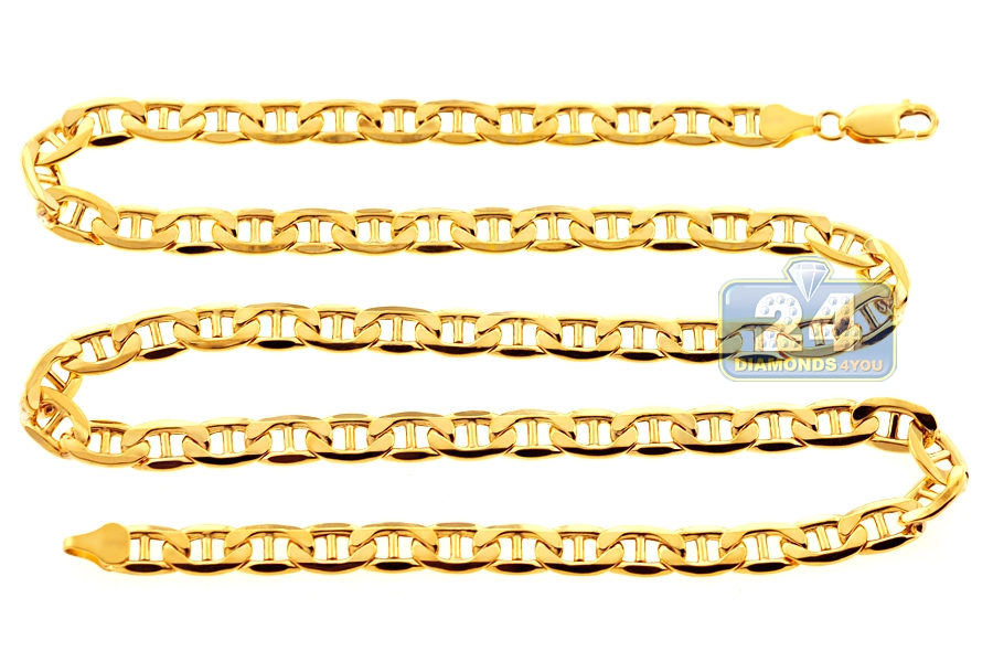 chains product titanium color mesh italian cm yellow zfolio collection karat gold chain