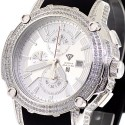 Aqua Master Nicky Jam 5.00 ct Diamond Mens Silver Watch