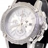 Mens Diamond Silver Dial Watch Aqua Master Nicky Jam 5.00 ct