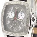 Aqua Master Classic 1.50 ct Diamond Mens Gray Watch