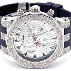 Joe Rodeo Broadway 5.00 ct Diamond Silver Watch JRBR2